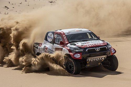 Toyota Rilis Susunan Pembalap Reli Dakar 2021