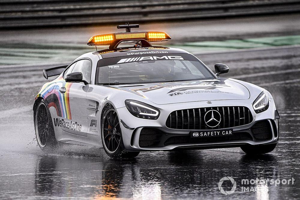 Mercedes deelt safety car-taken in 2021 met Aston Martin