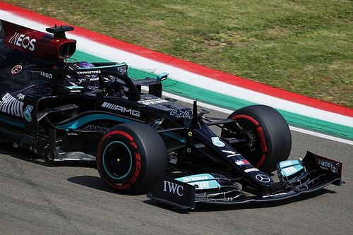 "Mercedes F1 drivers ""a lot happier"" with W12 car at Imola"