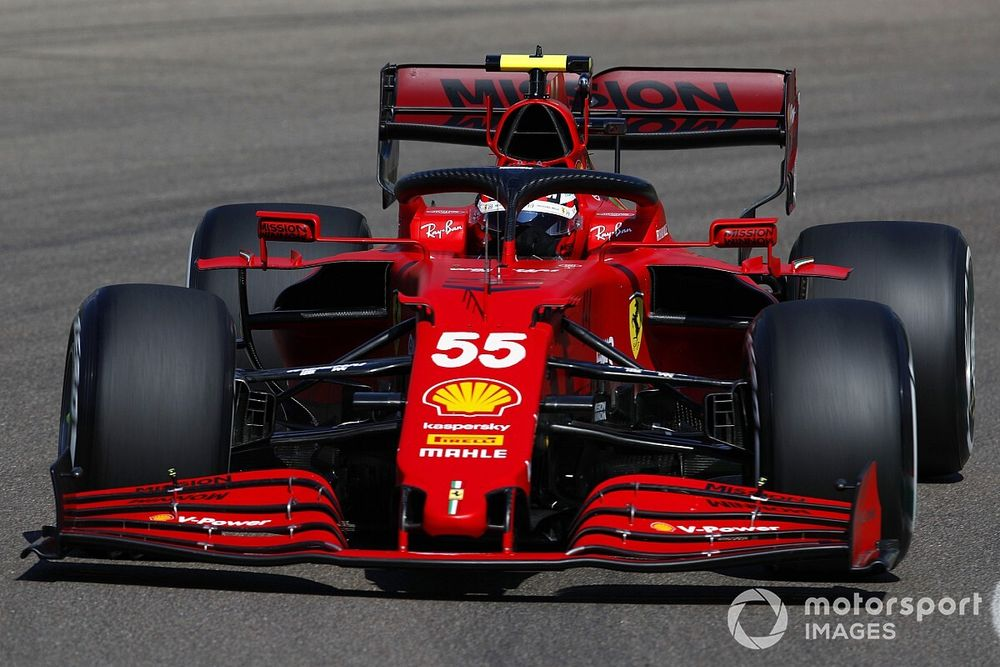 F1: Sainz ainda está se acostumando a um sistema da Ferrari; veja