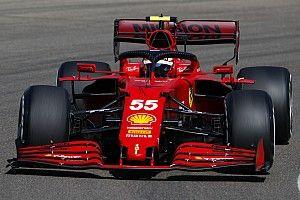 Sainz still building confidence with Ferrari's start system