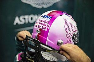 Vettel aura un casque rose pour la bonne cause