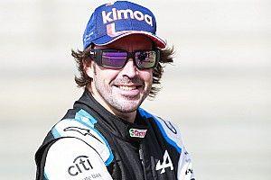 Sa chute de vélo n'a eu aucune incidence sur la préparation d'Alonso