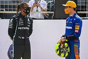 Cómo Hamilton elevó la confianza de Norris dentro y fuera de la pista