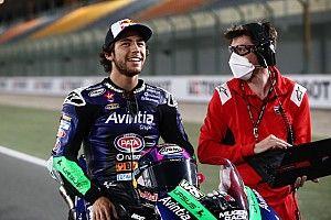 Bastianini, saçları nedeniyle Doha GP'de önünü görmekte zorlanmış