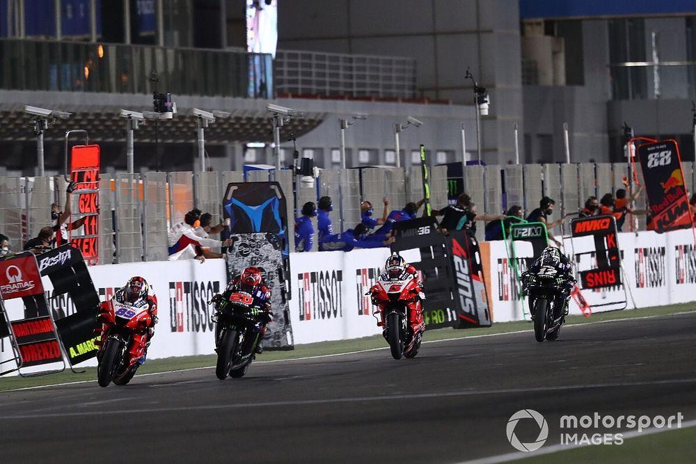 El vuelta a vuelta del Gran Premio de Doha 2021 de MotoGP