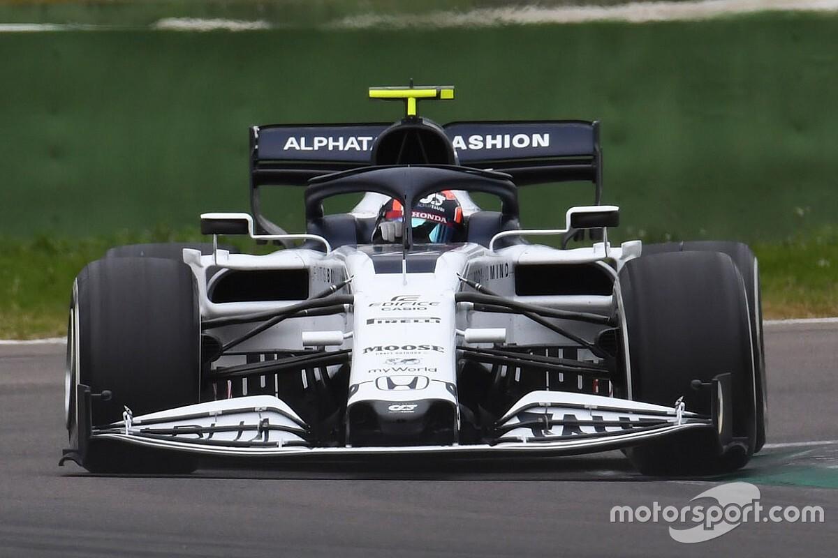 角田裕毅、F1での1年目から「ミスを恐れない……全力でプッシュする」