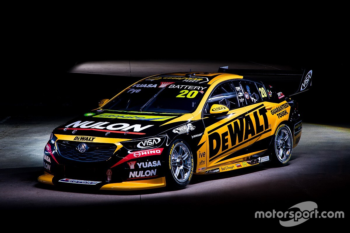 Pye's 2021 Commodore breaks cover