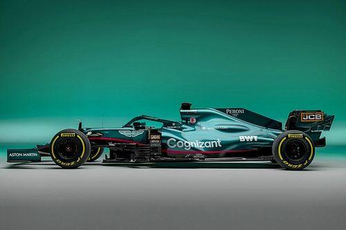 Fotogallery F1: la Aston Martin AMR21 di Vettel e Stroll
