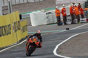 Las fotos de la agitada clasificación del GP de Europa de MotoGP