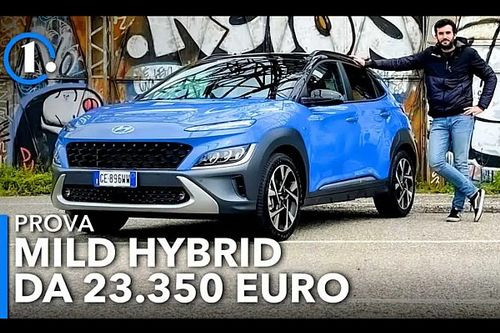 Hyundai Kona (2021), come va la mild hybrid con cambio manuale
