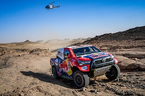 Toyota teme a los pinchazos en la segunda semana del Dakar