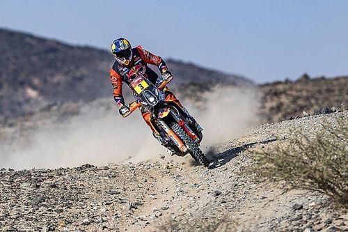 Price Kendarai Motor untuk Kali Pertama Usai Insiden Dakar