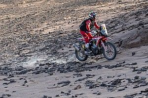 Dakar, Moto, Tappa 4: ancora Barreda, comanda de Soultrait