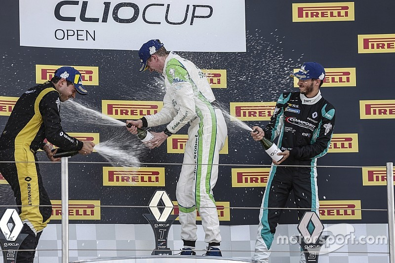 Clio Cup Open: Felice Jelmini sale sul podio al Paul Ricard