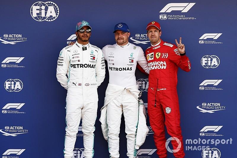 Parrilla de salida del GP de España