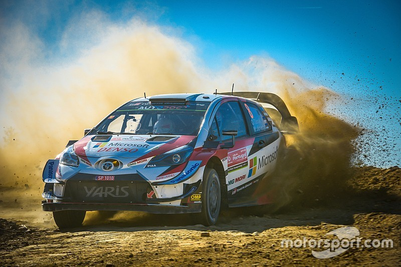 WRCポルトガル初日:トヨタのヤリスが快調。トップ3独占の好発進