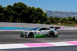La Bentley del team M-Sport domina la 1000 Km del Paul Ricard
