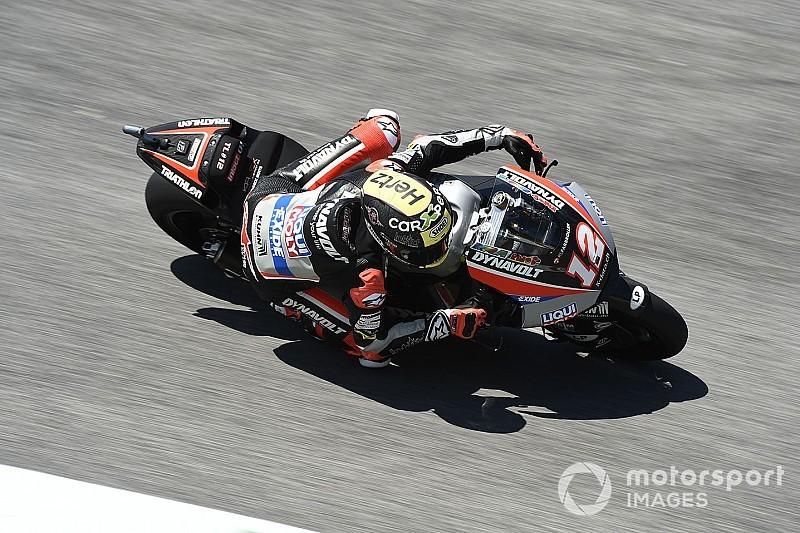 Moto2 Barcelona: Lüthi zet de toon, Bendsneyder in top-20