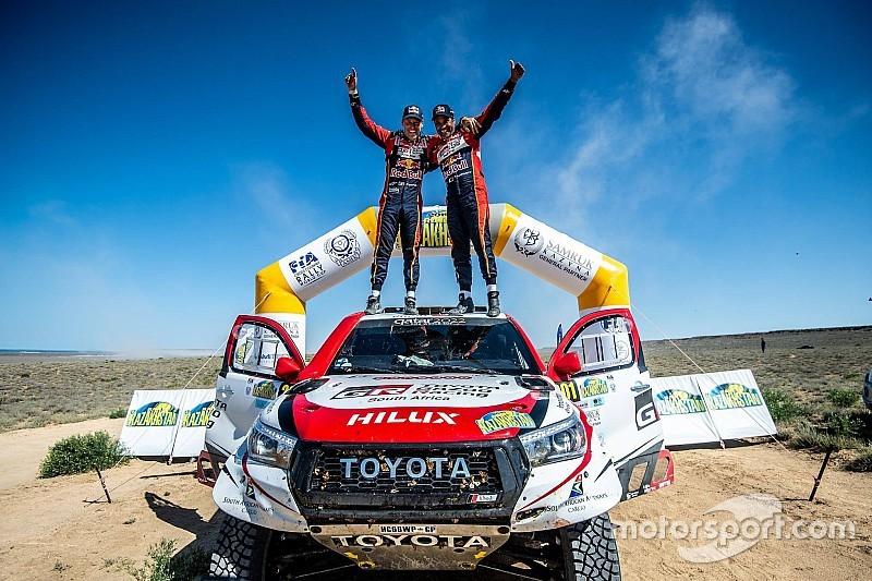Al Attiyah se impone a Peterhansel en el Rally de Kazajistán