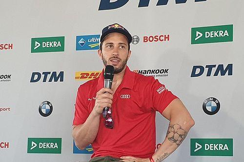 """Che potenza il DTM per Dovizioso: """"L'Audi mi ha fatto paura, ma adoro queste sfide!"""""""
