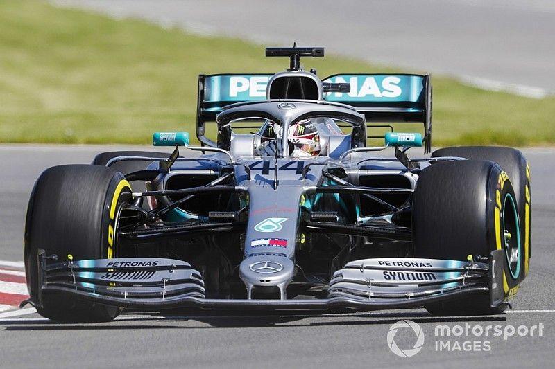 Canadian GP: Hamilton tops FP1 from Bottas
