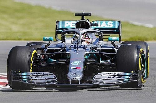 加拿大大奖赛FP1:梅赛德斯霸占前二,汉密尔顿最快