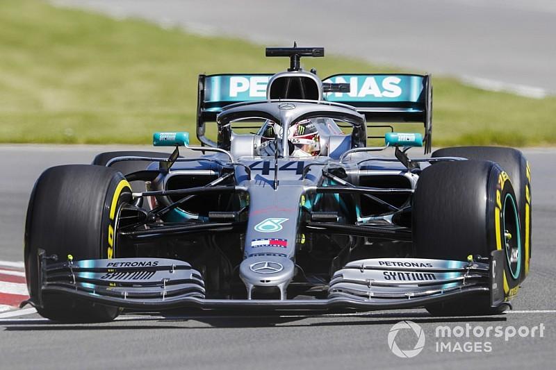 Mercedes begint ijzersterk in Canada, vierde tijd voor Verstappen