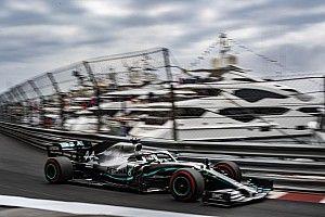 Hamilton manda en la segunda práctica en Mónaco