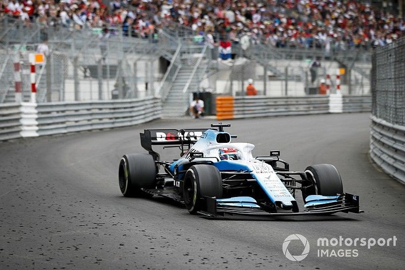 Russell thought he was on course for points in Monaco