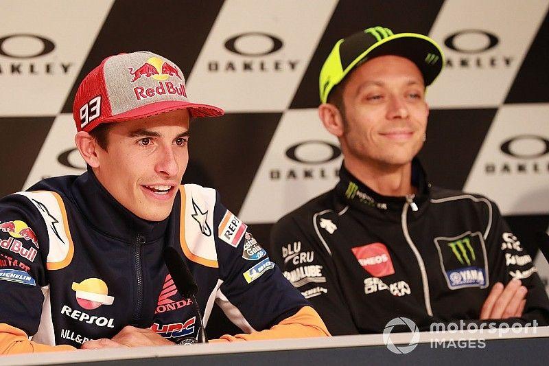 """Rossi: """"¿Márquez resfriado? Pensaba que era un mutante y nunca le pasa nada"""""""