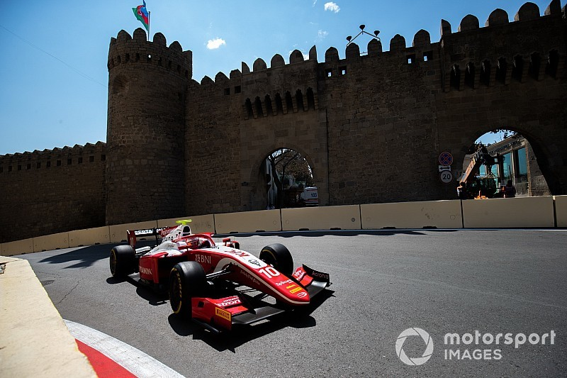 Gelael excluded from F2 qualifying for marshal incident