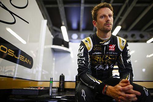 """Grosjean """"sur les fesses"""" après son élimination en Q1"""