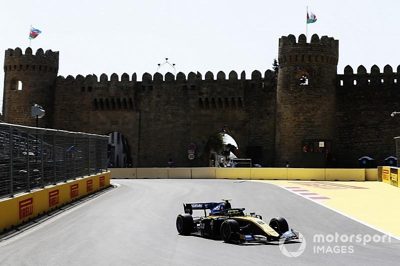 Ghiotto penalizzato al termine della Feature Race di Baku, retrocede in nona posizione