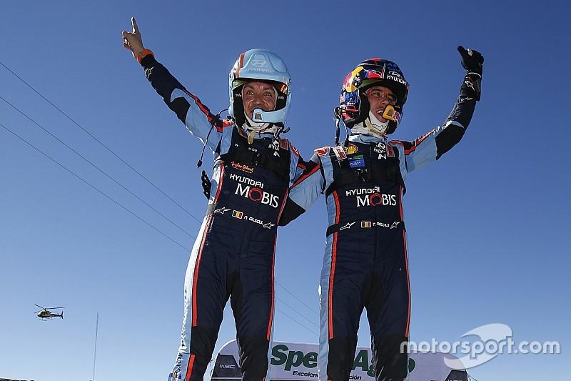 WRCアルゼンティーナ:ヌービル連勝でヒュンダイ1-2。トヨタ勢はトラブルの連続