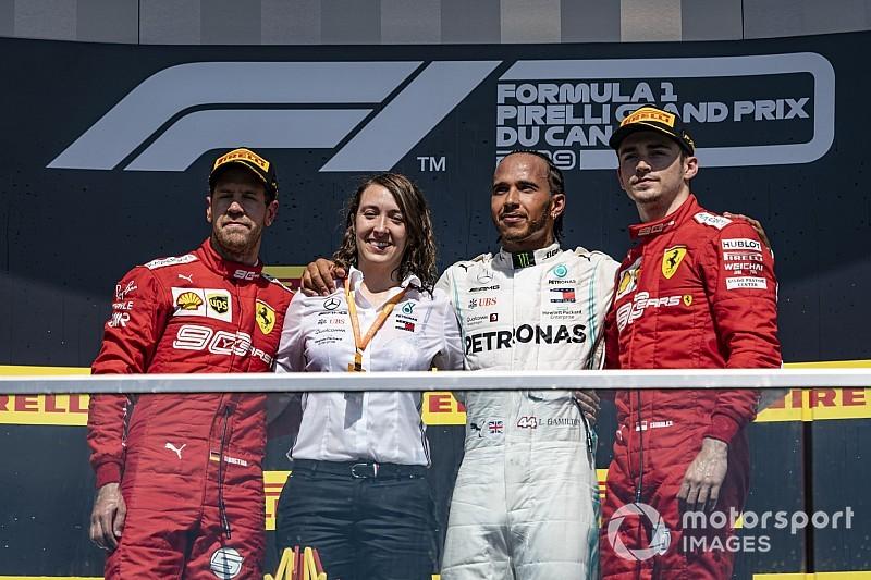 Vettel csak a többiek iránti tiszteletből ment vissza a dobogóra