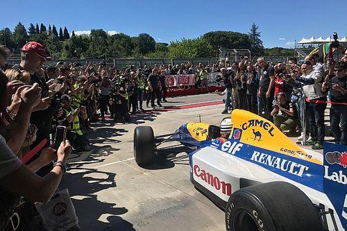 Historic Minardi Day: Patrese racconta il ritorno alla guida della Williams FW14