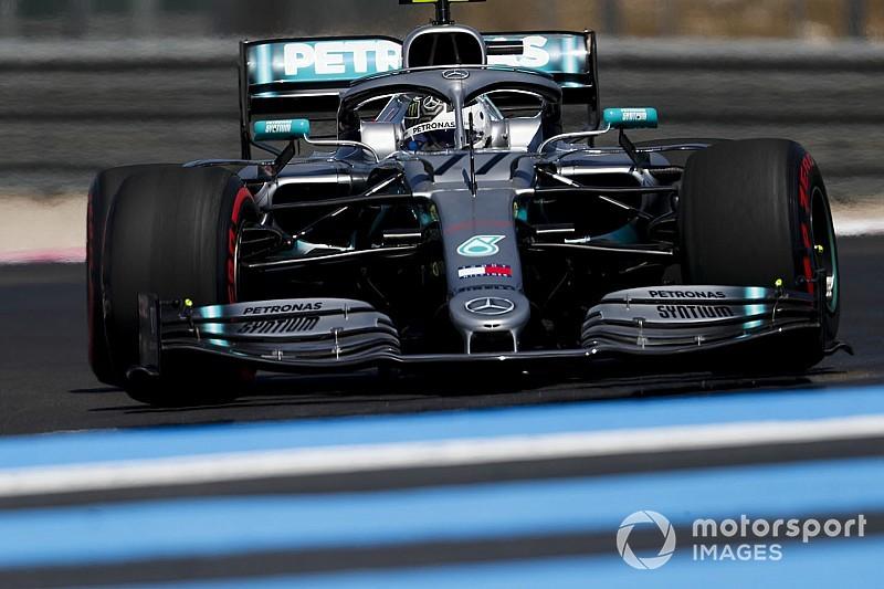 Bottas bate Hamilton e é o mais rápido do fim de semana na França