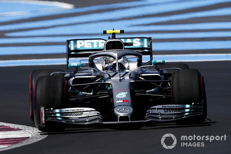 Bottas najszybszy, błąd Hamiltona