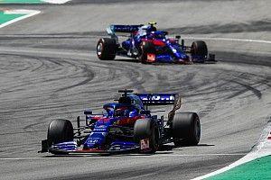 Un raté de communication coûte des points à Toro Rosso