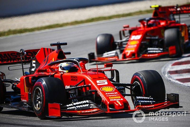 """Ferrari admite que atualizações para GP da Espanha foram """"insuficientes"""""""