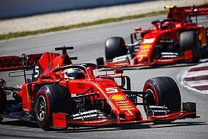 """Vettel : Le plat """"m'a ralenti"""" et """"compromis"""" le premier relais"""