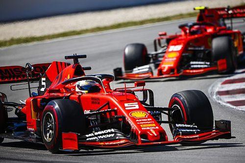 """「アップグレードが""""不十分""""だった」フェラーリ代表、スペインGPの結果に落胆"""