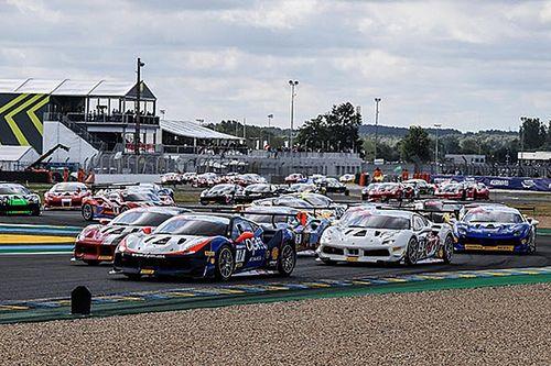 Ferrari Challenge Europe: Carroll vince a Le Mans, Prette allunga in classifica