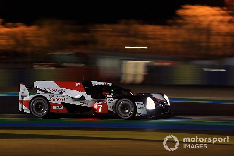 Au Mans, le combat se muscle entre les deux Toyota!