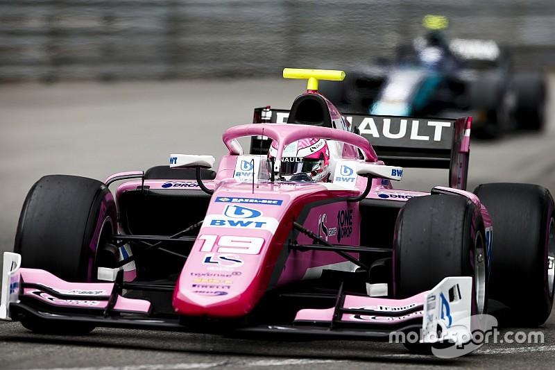 F2, Monaco: Hubert sconfigge Deletraz al fotofinish e conquista il successo nella Sprint Race