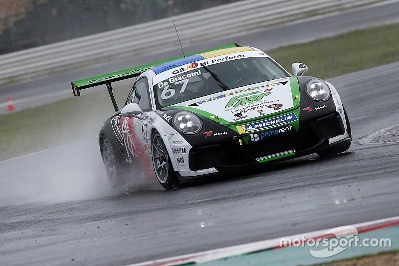 "Carrera Cup Italia, Misano: De Giacomi rialza la ""pinna"""