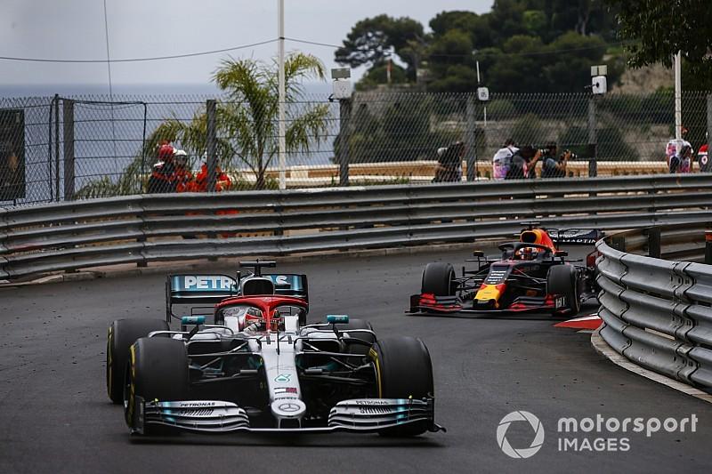 """Webber salue la victoire """"très compliquée"""" de Hamilton"""