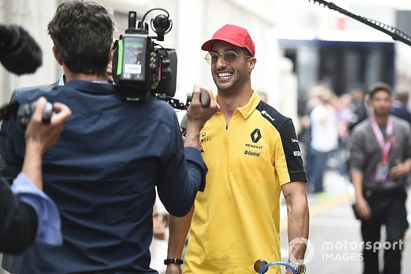 """""""Motive"""" Ricciardo: Montreal yeni motor için iyi bir test olacak"""