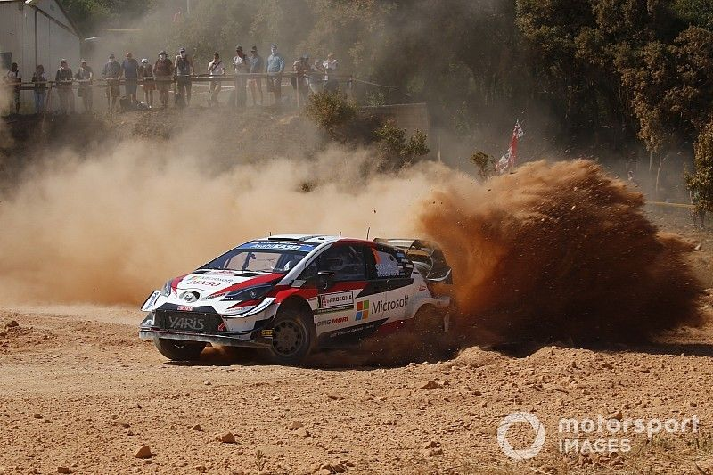 WRC: Tanak e Toyota dominano la seconda tappa del Rally Italia Sardegna